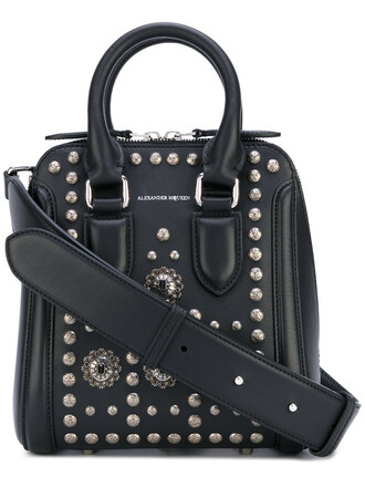 women bag leather black