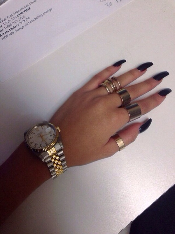 jewels ring gold boho