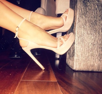 shoes nude high heels style