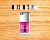 bag,dior,pink,christian dior,dior not war,nail polish,iphone cover,iphone case,iphone 5 case,iphone 4 case,iphone