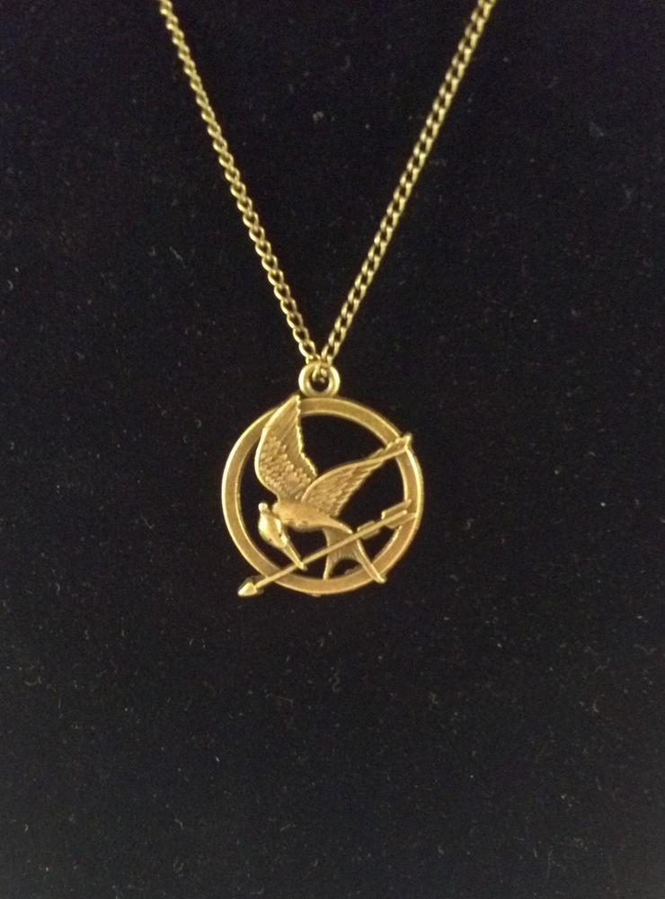 Mockingjay Necklace Hunger Games Replica USA Seller | eBay