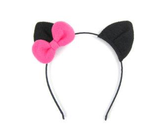 Popular items for cat ear headband on etsy