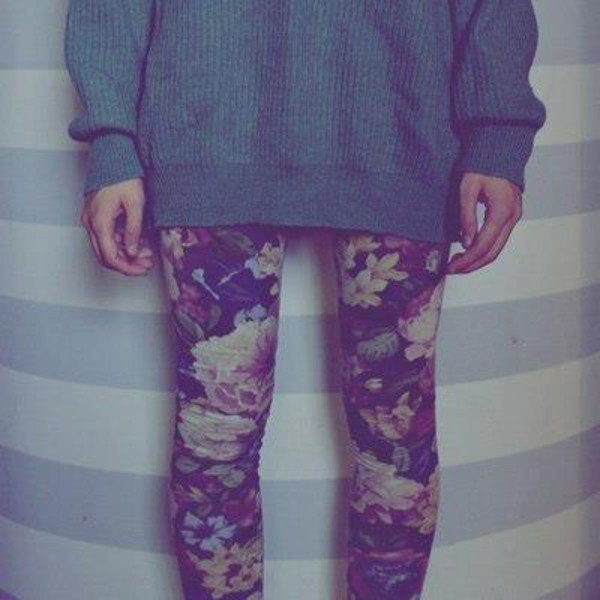 pants flowers pantacollant shirt jeans skinny jeans