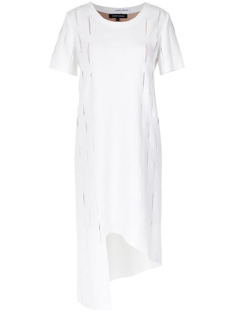 Gloria Coelho dress women spandex white