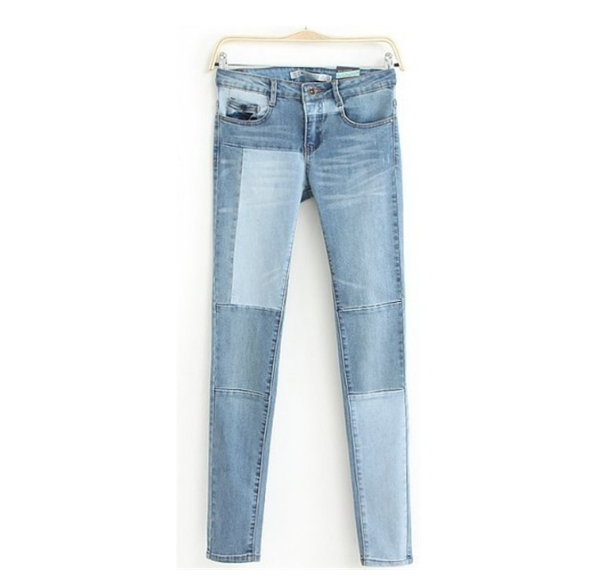 The protagonist jeans