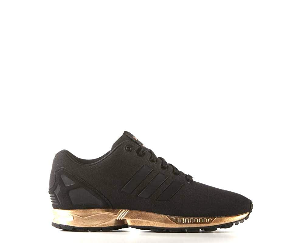 detailed look a259b eaa56 shoes, adidas, black trainers, black, black shoes, trainers, adidas shoes,  rose gold, gold, sports shoes, black and gold adidas, adidas black rose  gold, ...