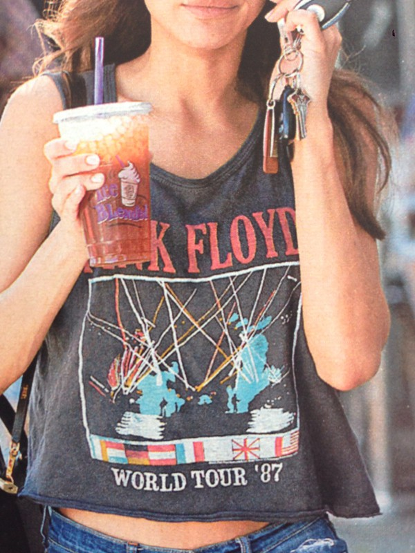 band t-shirt band pink floyd grunge