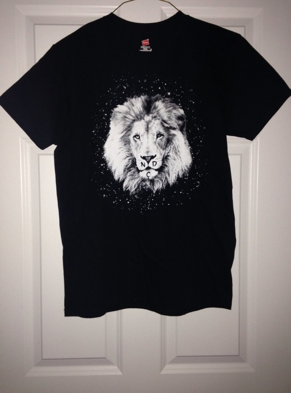 t-shirt lion lion shirt graphic tee