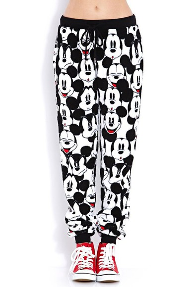 mickey mouse jogger pant