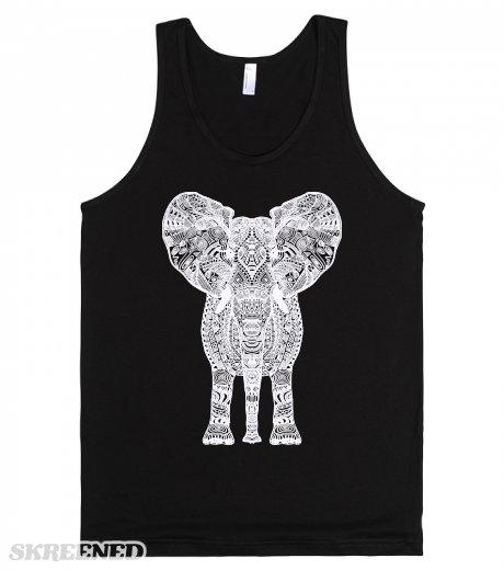 White aztec elephant