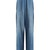 Sophie contrast-panel high-rise cotton trousers