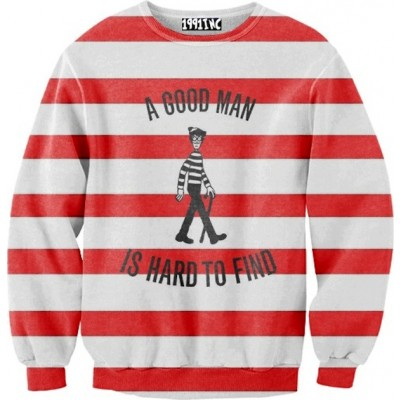 Where S Waldo A Good Man Is Hard To Find Sweater