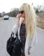 cardigan,knit,shrug,jacket,oversized,white jacket,grey jacket