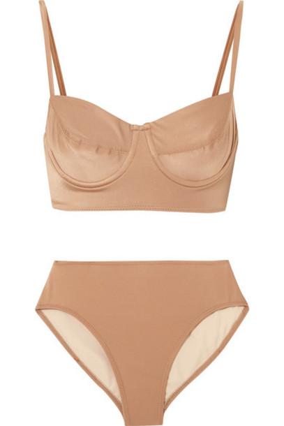 bikini light brown swimwear