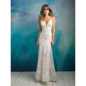 dress,bridesmaid,wedding dress,allure bridals 9016 vintage lacee,a line prom gowns,little black dress