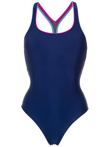 Lygia & Nanny women spandex blue swimwear