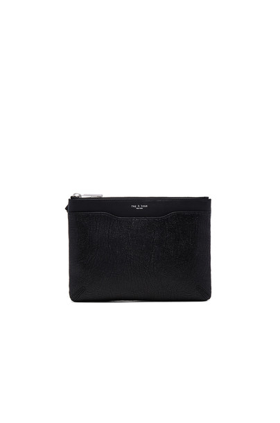 Rag & Bone zip clutch black