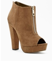 shoes,high heel booties,taupe