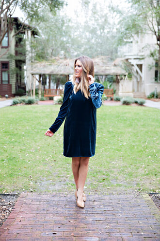 lipstickheels&ababy blogger dress shoes jewels blue dress pumps