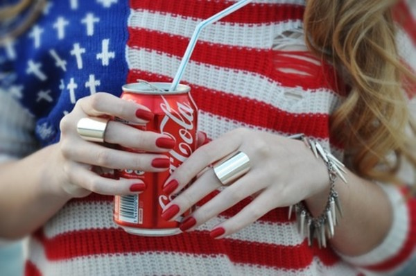 shirt flag red white blue american flag