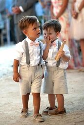 paigeboy,clothes,linen,bowtie,belt,shorts,shirt