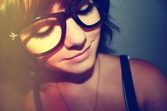 hair accessory glasses nerd nerd glasses birds emo hipster scene