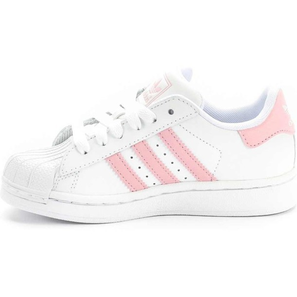 adidas shoes pink and white