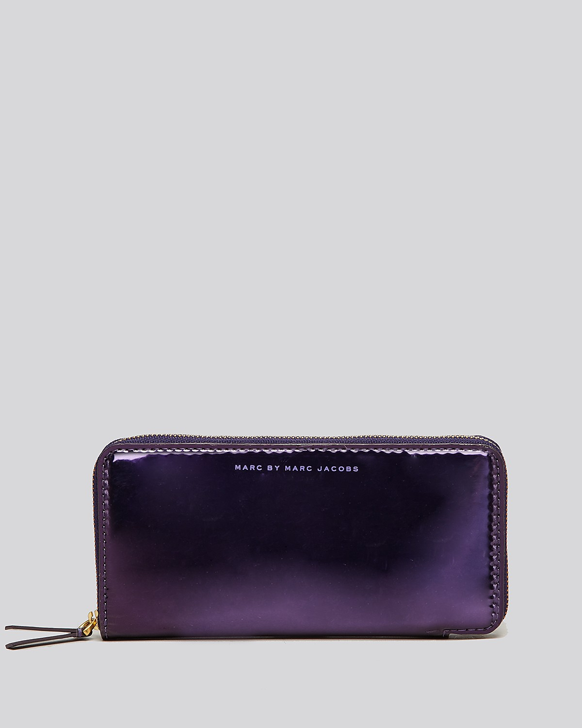 MARC BY MARC JACOBS Wallet - Techno Hologram Slim Zippy | Bloomingdale's