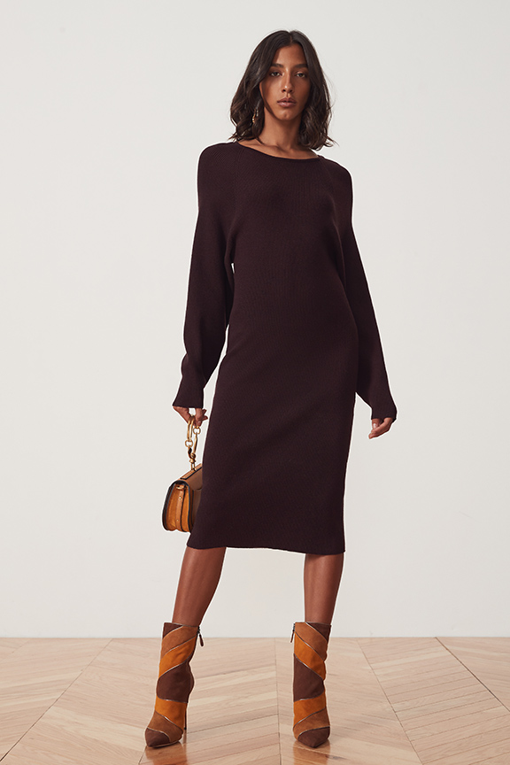 Cozumel Dress in Brown   Song of Style