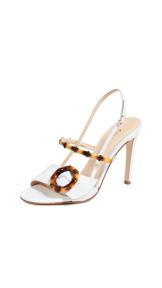 Chloe Gosselin Celeste Sandals in white
