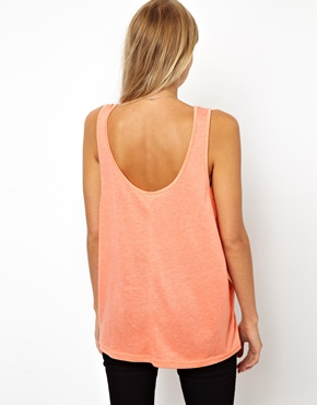 ASOS | ASOS Vest with Drape Armhole at ASOS