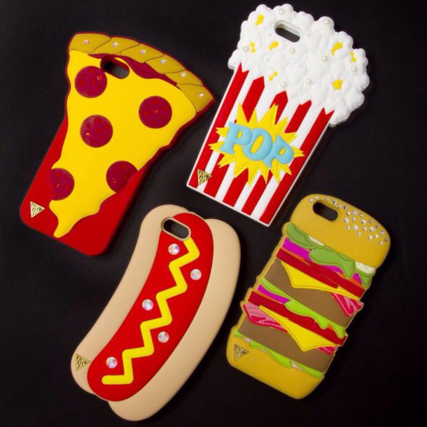 bag phone cover phone cover food