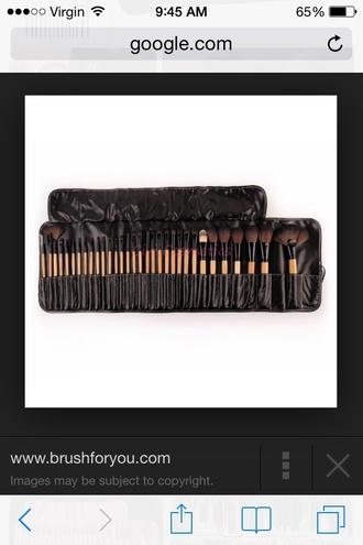make-up makeup brushes makeup bag