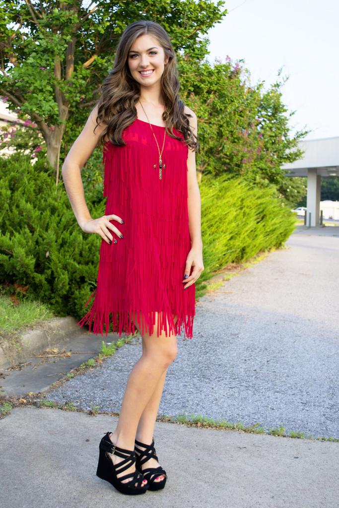 Fringe Forever Dress | Siloe