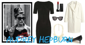 dress outfit audrey hepburn breakfast at tiffany's