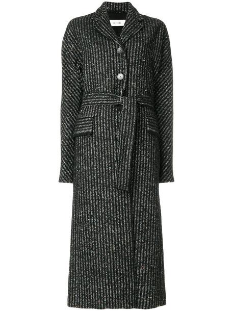 Damir Doma coat women cotton black silk wool