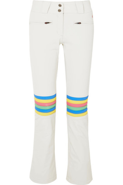 Perfect Moment pants ski pants flare white