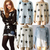 Sexy Women Oversized Star Printed Distressed Frayed Jumper Hole Knitwear Sweater | eBay