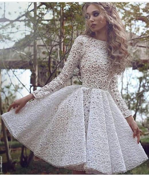 Long Sleeve Party Dresses Cute