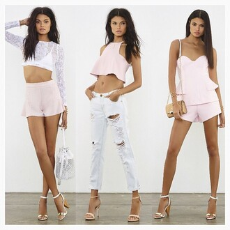 jeans one teaspoon ripped white revolve clothing revolve white ripped jeans