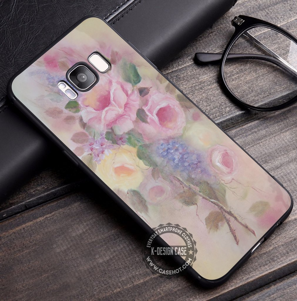 Shabby Chic Rose iPhone X 8 7 Plus 6s Cases Samsung Galaxy S8 Plus S7 edge NOTE 8 Covers #iphoneX #SamsungS8