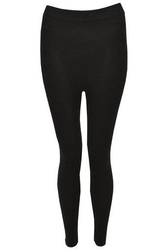 Dora Thick Black Leggings - Pop Couture