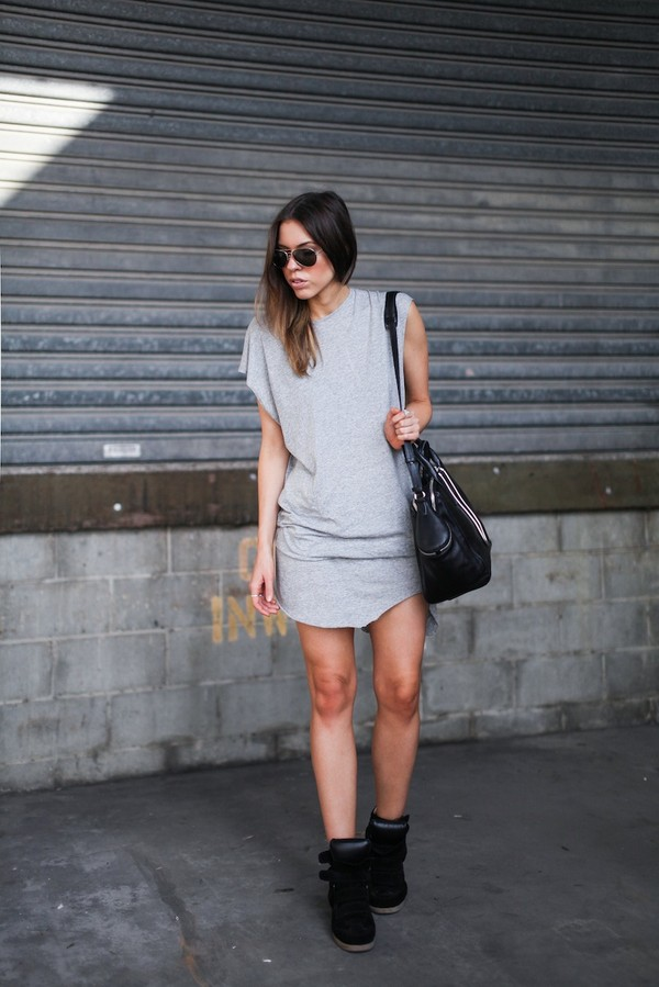 modern legacy tank top dress shoes bag sunglasses