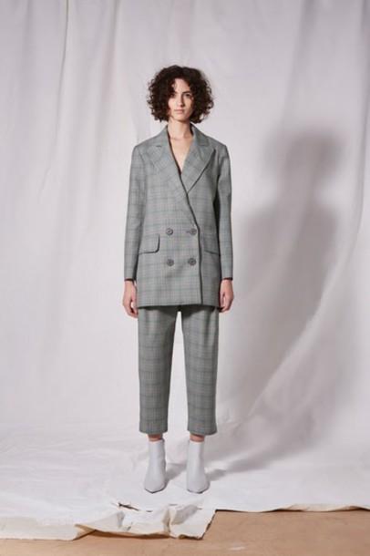 Topshop blazer lavender jacket