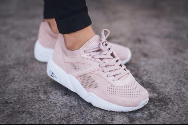 cb6d26a33dce2 shoes, puma r698 soft, puma sneakers, puma trinomic r698, pink, puma ...