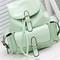 Foldover buckled backpack - mint