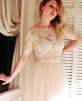 dress pink light pink skirt