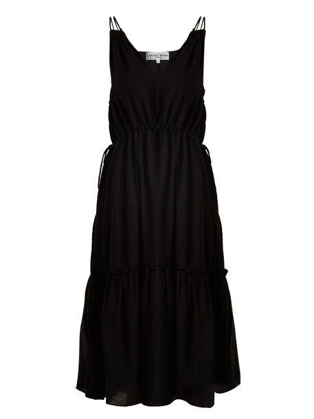 dress cotton black