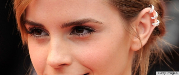 jewels ear cuff earrings emma watson