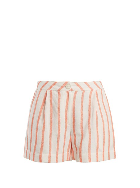THIERRY COLSON shorts high orange